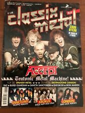 CLASSIX METAL N.8 Accept Krokus London Sanctuary Strana Officina