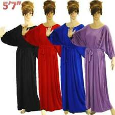Regular Size Pinstriped Casual Dresses for Women