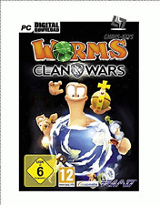 Worms Clan Wars Steam Key PC Game Download Code Global [Lightning Shipping]