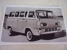 1961 FORD ECONOLINE WINDOW VAN  11 X 17  PHOTO  PICTURE