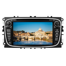 "Black 7"" Car DVD Player GPS Navigation System Radio Bluetooth FORD MONDEO FOCUS"