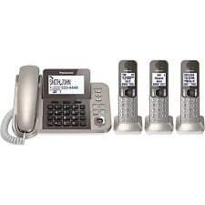 Panasonic Kx-Tgf353N Phone System with 3 Handsets - Champagne Gold