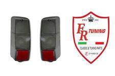 COPPIA PLASTICHE FANALI/FARI POSTERIORI FUMÈ FIAT 500 F/L/R