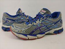 ASICS GT-1000 2 Running Athletic Tennis Shoes Blue Pink T3R5N Womens Sz 6.5 EUC