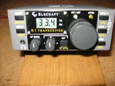 Elecraft K1 QRP Transceiver 40/20 Mint Condition