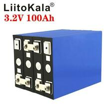 2/4/6 pcs 3.2V 100Ah lifepo4 Iron Phosphate solar cell Electric Car battery Lot