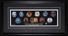 Vancouver Canucks Jersey Evolution frame
