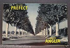 1956 English Ford Anglia & Prefect Brochure Folder US Market Excellent Original