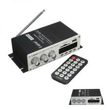 Mini 100W Remote Control Car Power Amplifier USB DVD CD FM Radio AUX MP3 Player
