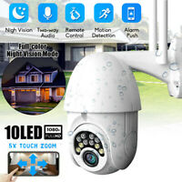 5x Zoom Outdoor Waterproof PTZ Pan Tilt 1080P Security IP IR Camera Night Vision