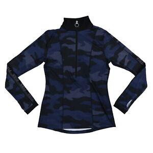 Victoria's Secret Pink Half Zip Ultimate Athletic Pullover Top Sport Shirt New