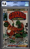 Godzilla 4 CGC Graded 9.8 NM/MT Marvel Comics 1977
