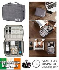 Cable Organiser Bag Digital Storage Bag Travel USB Electronics Carry Tool Case