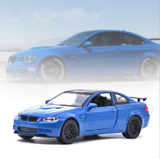 BMW M3 GTS Model Cars 1:32 Toys Sound&Light Alloy Diecast Collection&Gifts Blue