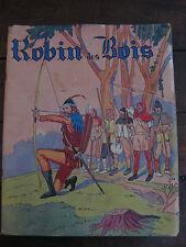 Robin des Bois Charlier Cartonnage illustré édit Gordinne livre enfant ancien