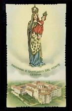 "santino-holy card ""ediz.NB- MADONNA DEL MONTE CESENA"