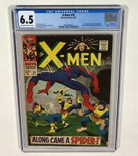 X-MEN #35 CGC 6.5 KEY! (Spider-Man, 1st Changling!) 1967 Marvel Comics