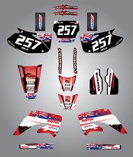 Full  Custom Graphic  Kit -AUSSIE PRIDE - HONDA CRF 450 - 2004
