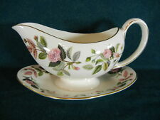 Wedgwood Hathaway Rose R4317 Gravy with Attached Base
