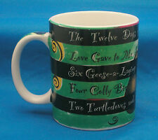Starbucks Twelve Days of Christmas Coffee Mug Tea Cup Deborah Reinhart