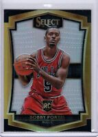 2015-16 Panini Select Bobby Portis Silver Prizm Refractor Rookie RC #161