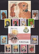 Benin - 1997 Dogs + 1997 Cacti - U/M 'Bundle'