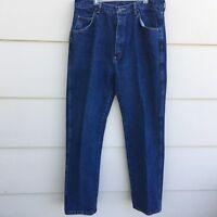 Wrangler Premium Quality Denim Regular Fit Jeans Mens Measures 34 X 32