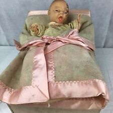 "Vintage Horsman Mechanical Electrical Store Display ""Living Bye Bye"" Baby Doll"