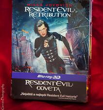 RESIDENT EVIL: Retribution 3D + 2D Steelbook™ + Gift Steelbook's™ foil