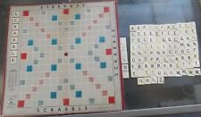 Vintage Scrabble Tiles and Board