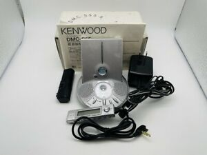 MD1355 Excellent  KENWOOD PORTABLE MD PLAYER DMC-S55  Silver  w/BOX