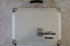 Raras. original alu-maleta para Rollei sl 2000f. exclusiva case.