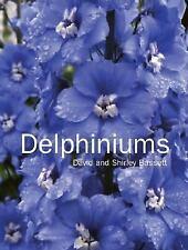 Delphiniums Book by Shirley & David Bassett Growing Gardening Blue Plants  OOP
