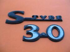 2000 JAGUAR S-TYPE 3.0 REAR LID EMBLEM LOGO BADGE SIGN SYMBOL 00 01 02 USED SET
