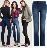 Ladies  EX Chain Jeans Store Denim Spandex Jeans Trouser BNWT All Size Rrp 24