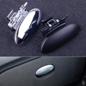 Couvercle Boite Gants Noir / Argent pour Citroen C2 Peugeot 206 207 Berlingo