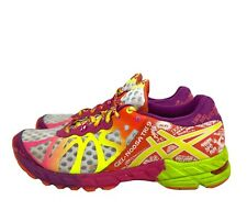 Asics T458N Gel-Noosa Tri 9 Women's Size 7 Running Shoes Duomax Multi-color