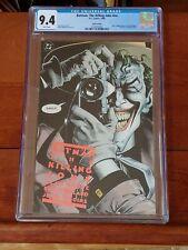 Batman The Killing Joke Red Logo 6th Printing! CGC 9.4 NM Joker Cripples Batgirl