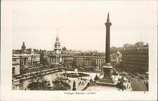 Trafalgar square; real photo 7