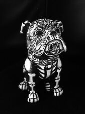 Day of the Dead Sugar Skull English Bull Dog Statue Dia DelosMuertos Art Bully 5