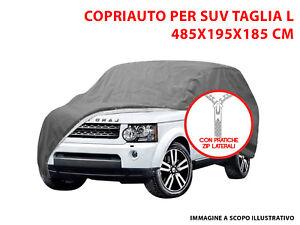 TELO COPRIAUTO COPRI SUV FELPATO IMPERMEABILE TG L SSANGYONG REXTON 2001>2007