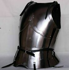 X-Mas 18Ga Steel Larp Medieval Armor Cuirass Battle Knight Breastplate Costu