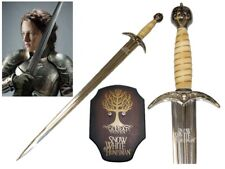 Official License Snow White and the Huntsman Sword w/ Wall Plaque