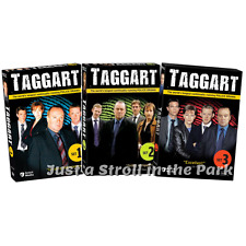 Taggart: UK Police Drama TV Series Complete Sets 1 2 3 Box / DVD Set(s) NEW!