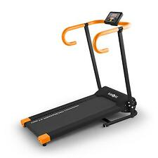 FITNESS LAUFBAND PRO MAGNETIC LCD KLARFIT PACEMAKER X1 10km/h PULSMESSER ORANGE
