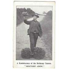More details for rothesay reminiscence of the season, heather jock, postcard postally used 1909