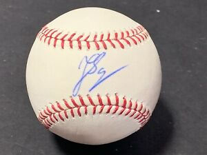 Jonathan Schoop Orioles Brewers Tigers Autographed Signed Baseball IMPERFECT