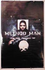 """Method Man judgement day vintage Wu-Tang Poster 1998 22.50"""" X 33.75""""(b226)"""