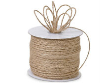 Natural Jute Burlap Rope String Twine 100 yd Spool Crafts Gifts Beige Holiday