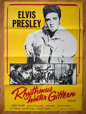 ELVIS PRESLEY - Jailhouse Rock 1974 rare German 1-sheet poster ROCK'N'ROLL